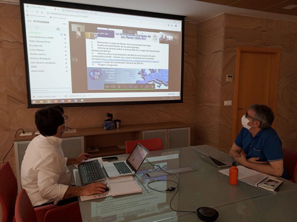 Reunión Virtual entre la UCA y sus Partners Asociados