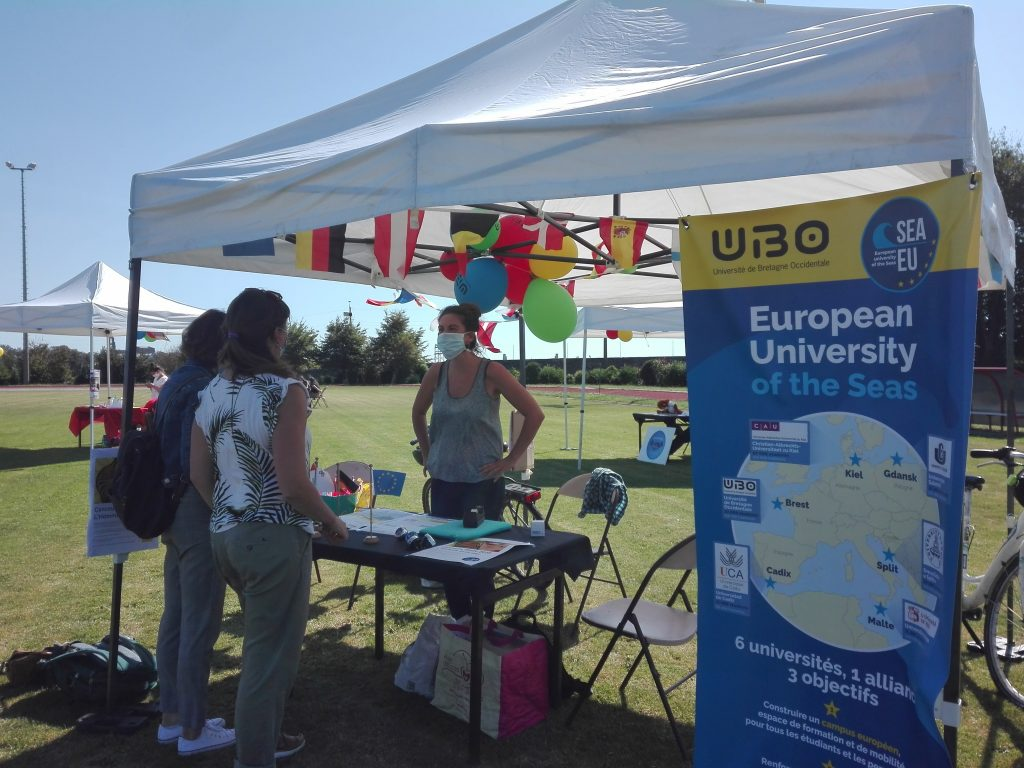 Welcoming day for UBO students