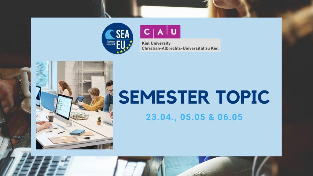 Staffweek: semester topic