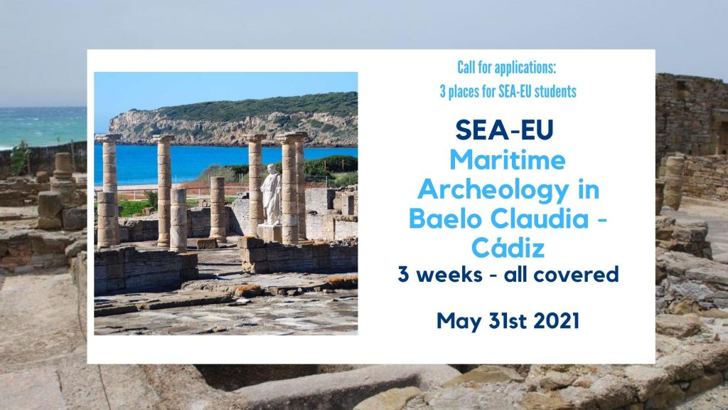 Call for applications: Maritime Archeology in Cadiz