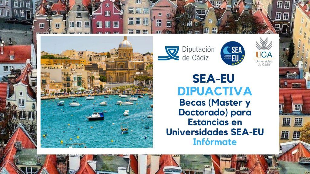 Becas de movilidad SEA-EU  Dipuactiva