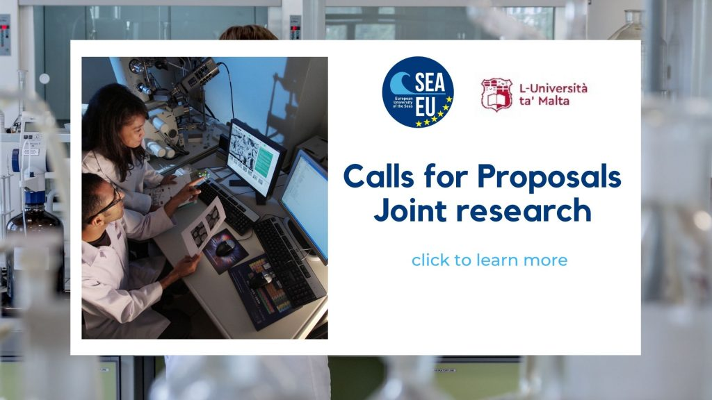 Joint research with UM: call for proposals