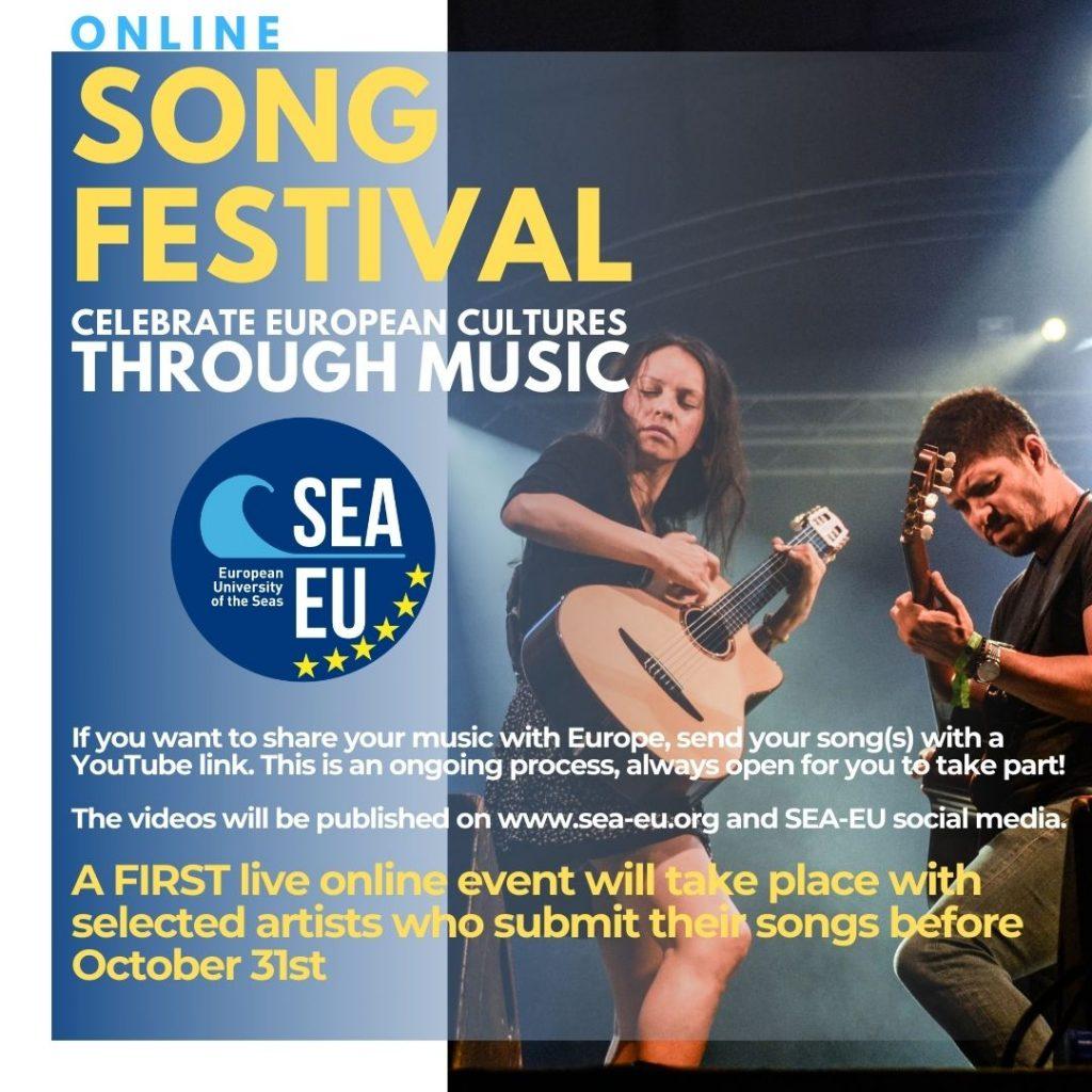 SEA-EU online Music Festival