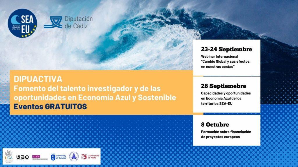 International Webinars on Blue Economy and Coastal Hazards