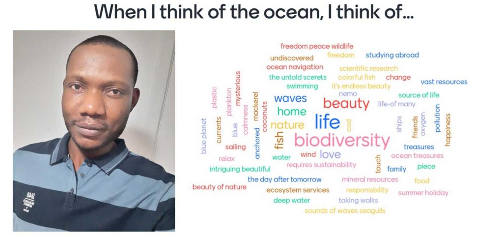 Peter Iregbeyen and some thoughts about the ocean
